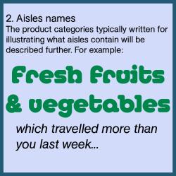 Aisle names